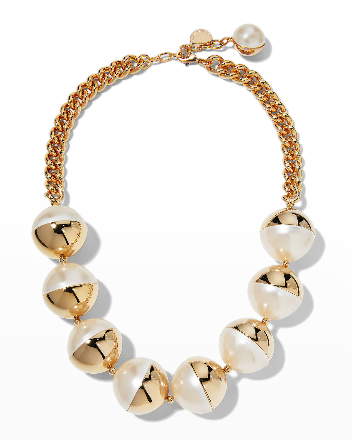 Large Ball Drop Necklace