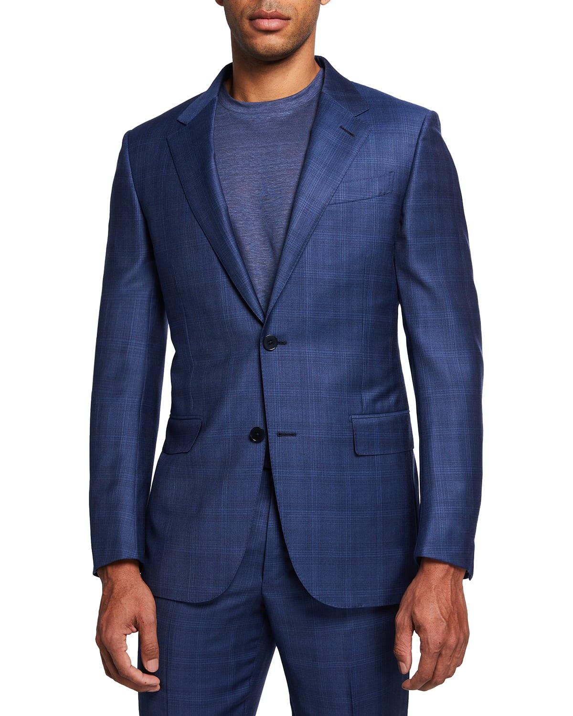 Men's Deco Wool Two-Piece Suit