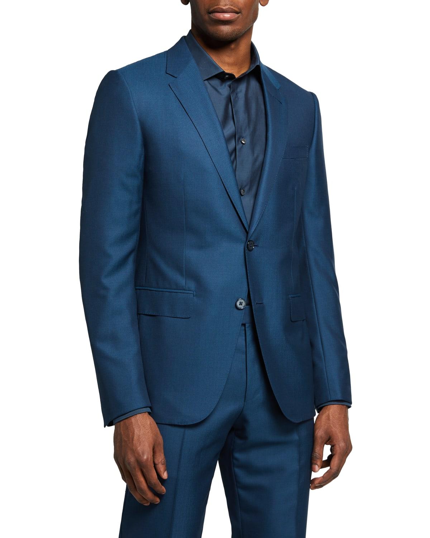 Men's Wool-Silk City Suit