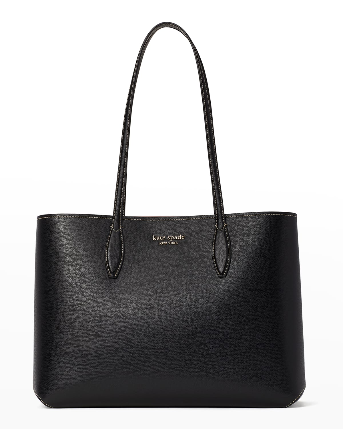 all day leather large tote bag