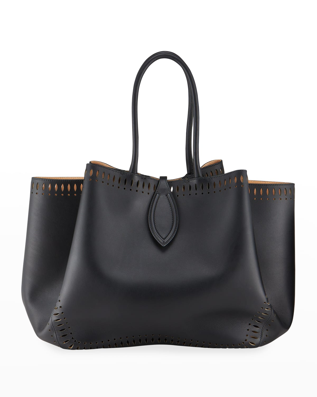 Angele 32 Calf Leather Top-Handle Bag