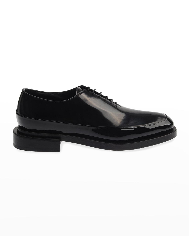 Men's Patent Leather Oxfords