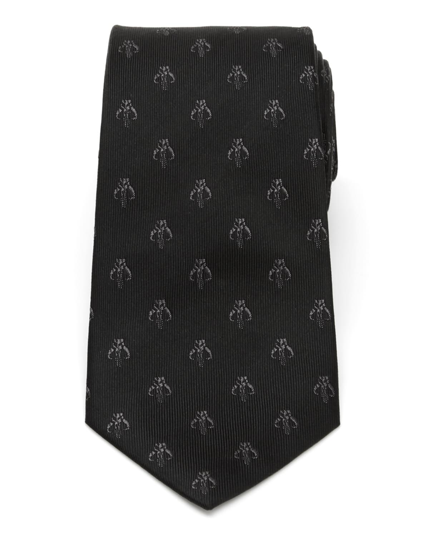 Men's The Mandalorian Mythosaur Skull Silk Tie