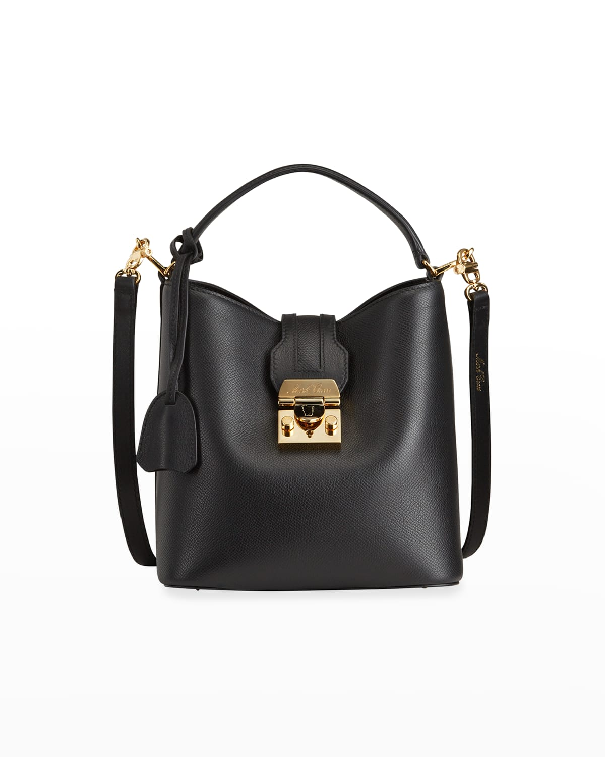 Murphy Small Soft Leather Bucket Bag