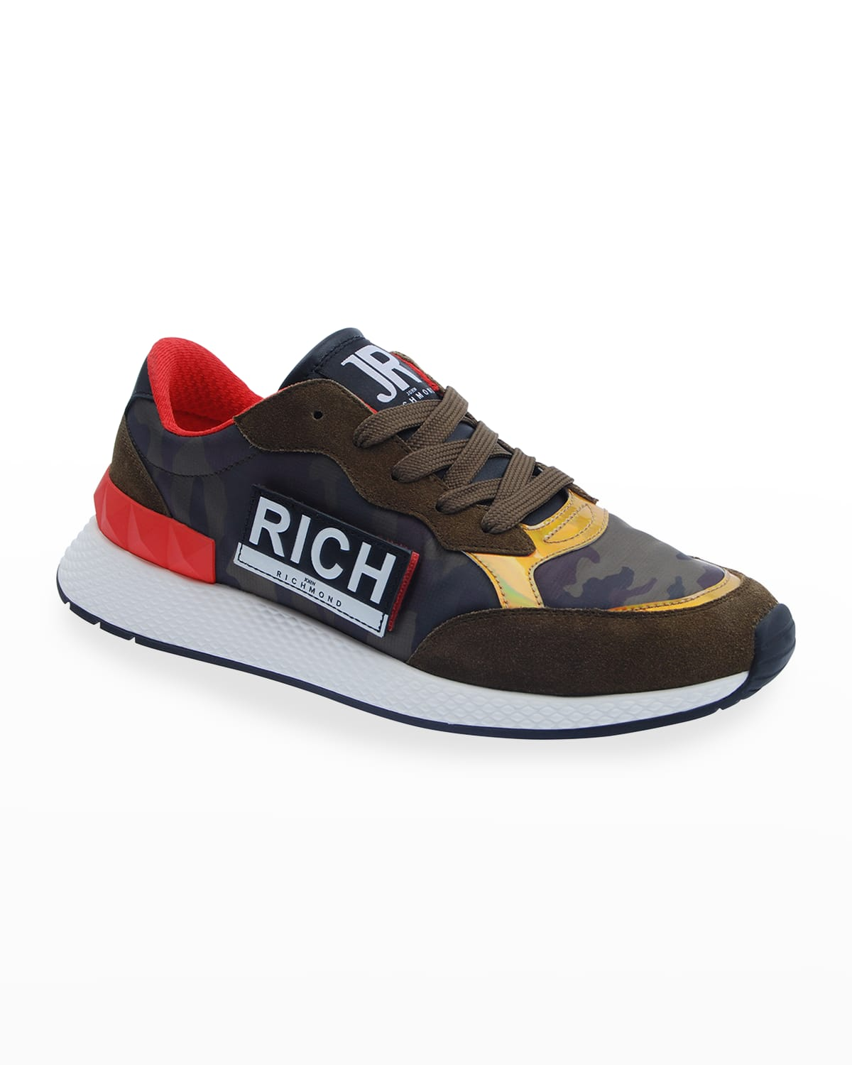 Men's Low Top Sneakers With Side L