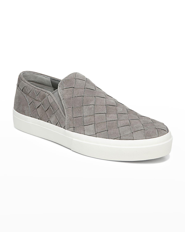 Men's Fletcher 2 Woven Suede Slip-On Sneakers