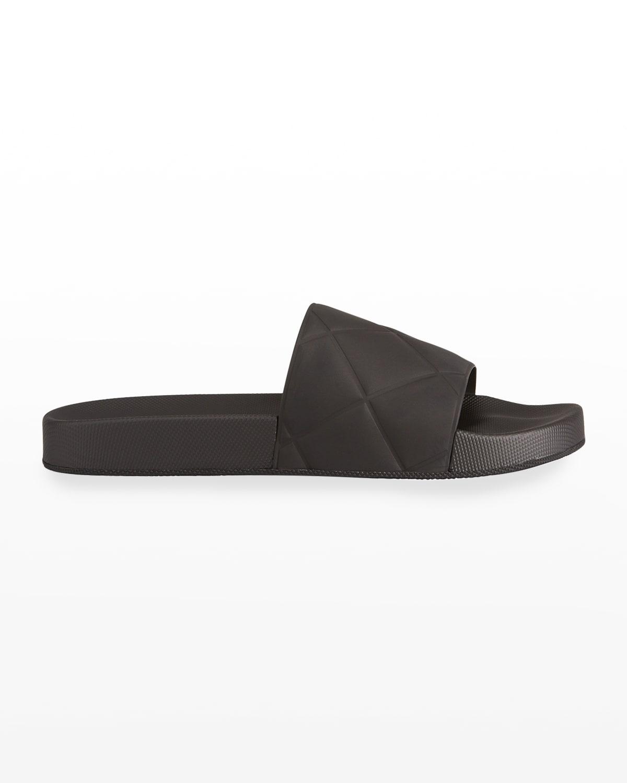 Men's Quilted Slide Sandals