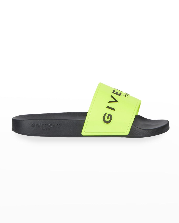 Men's Logo Pool Slide Sandals