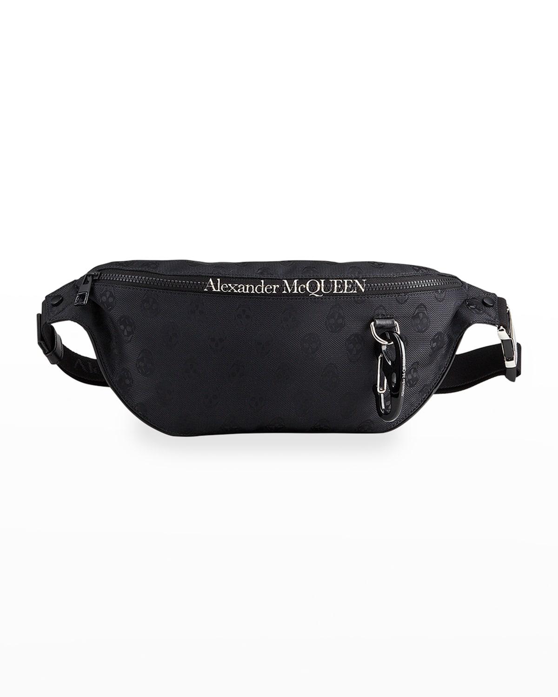 Men's Biker Skull Logo Belt Bag
