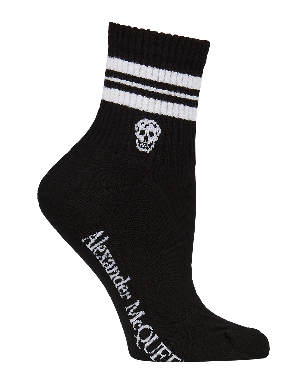 Stripe & Skull Sport Socks
