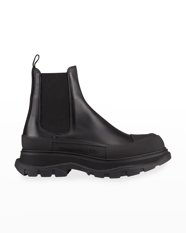 Men's Tread Leather Chelsea Boots