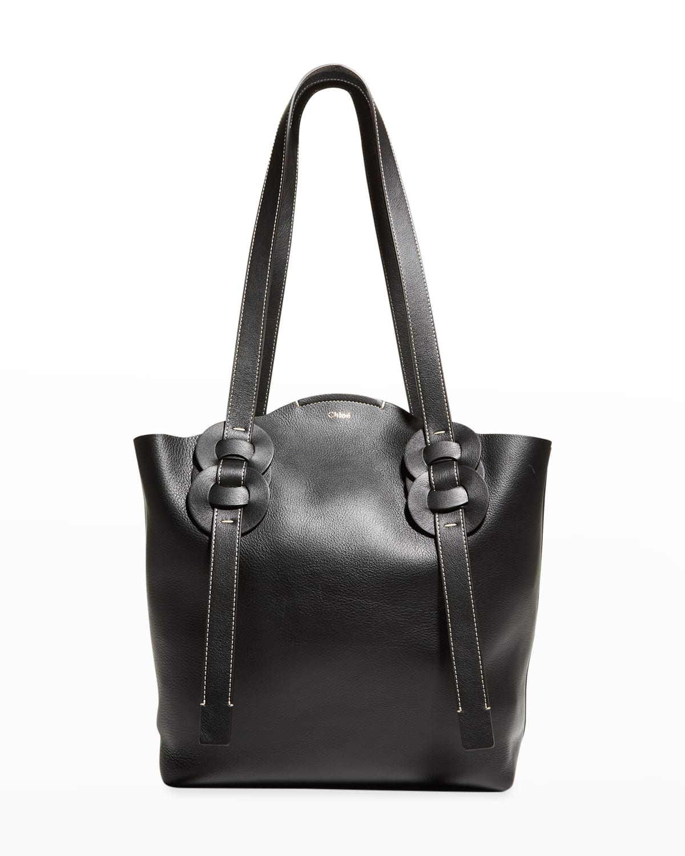 Darryl Medium Leather Tote Bag