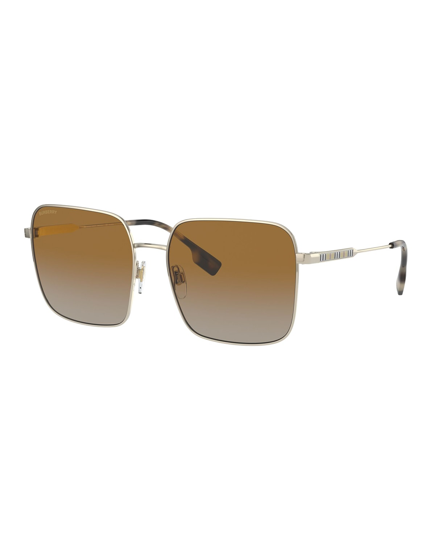 Oversized Square Steel Sunglasses