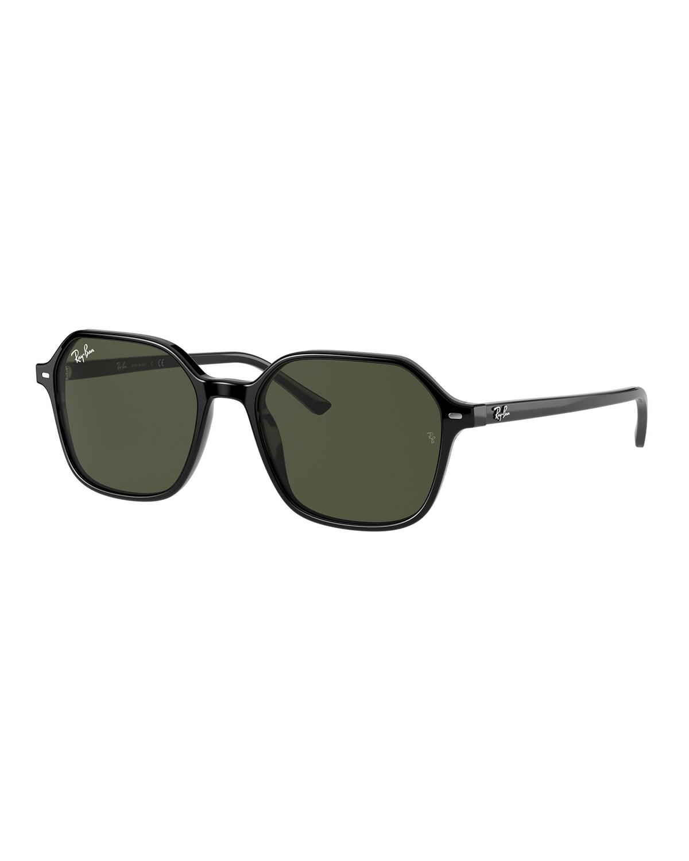 Men's John Square Acetate Sunglasses