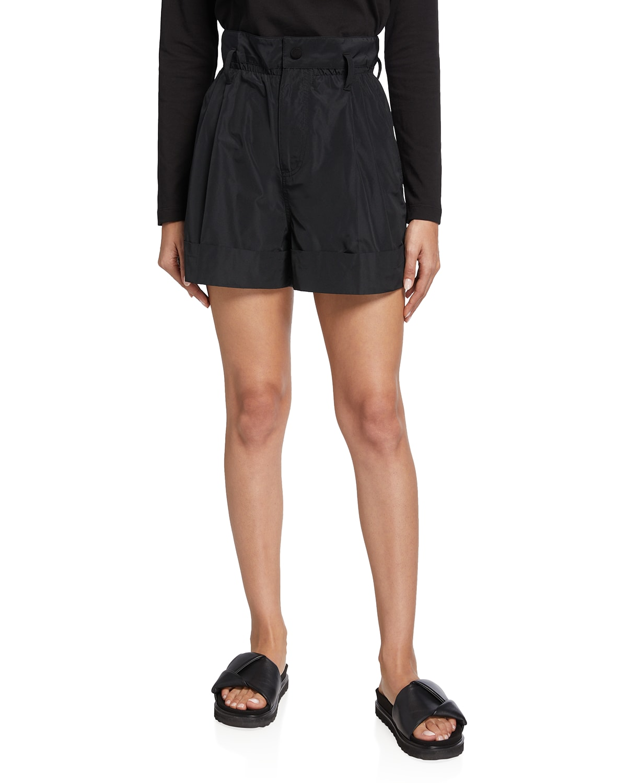Rolled-Cuff Shorts