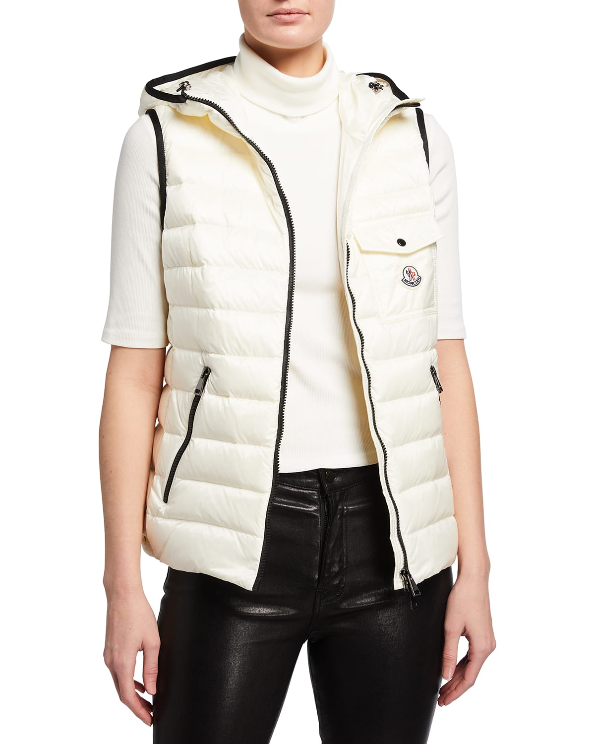 Glyco Hooded Puffer Vest