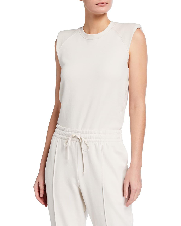 Channing Sleeveless Sweatshirt Bodysuit