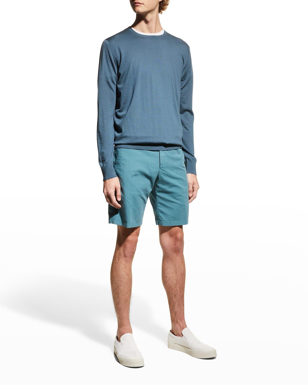 Men's Girocollo Wool Crewneck Sweater