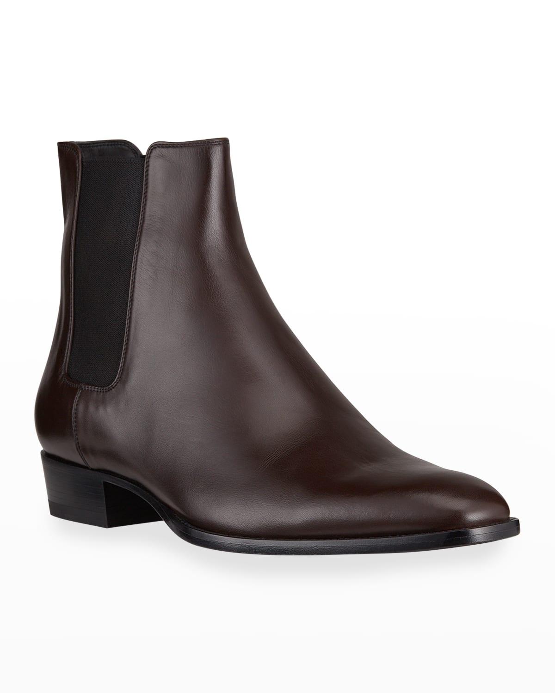 Men's Wyatt Leather Chelsea Boots