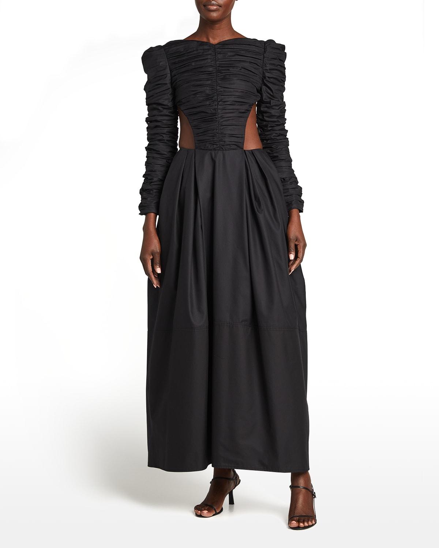 Rosaline Cutout Dress w/ Petticoat