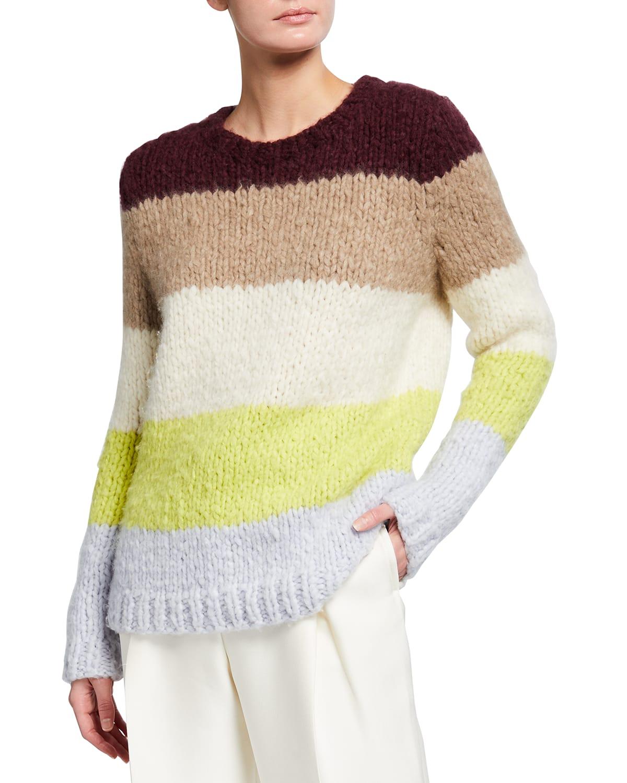Walter Striped Cashmere Sweater