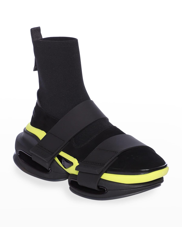 Men's B Bold Grip-Strap Sneakers
