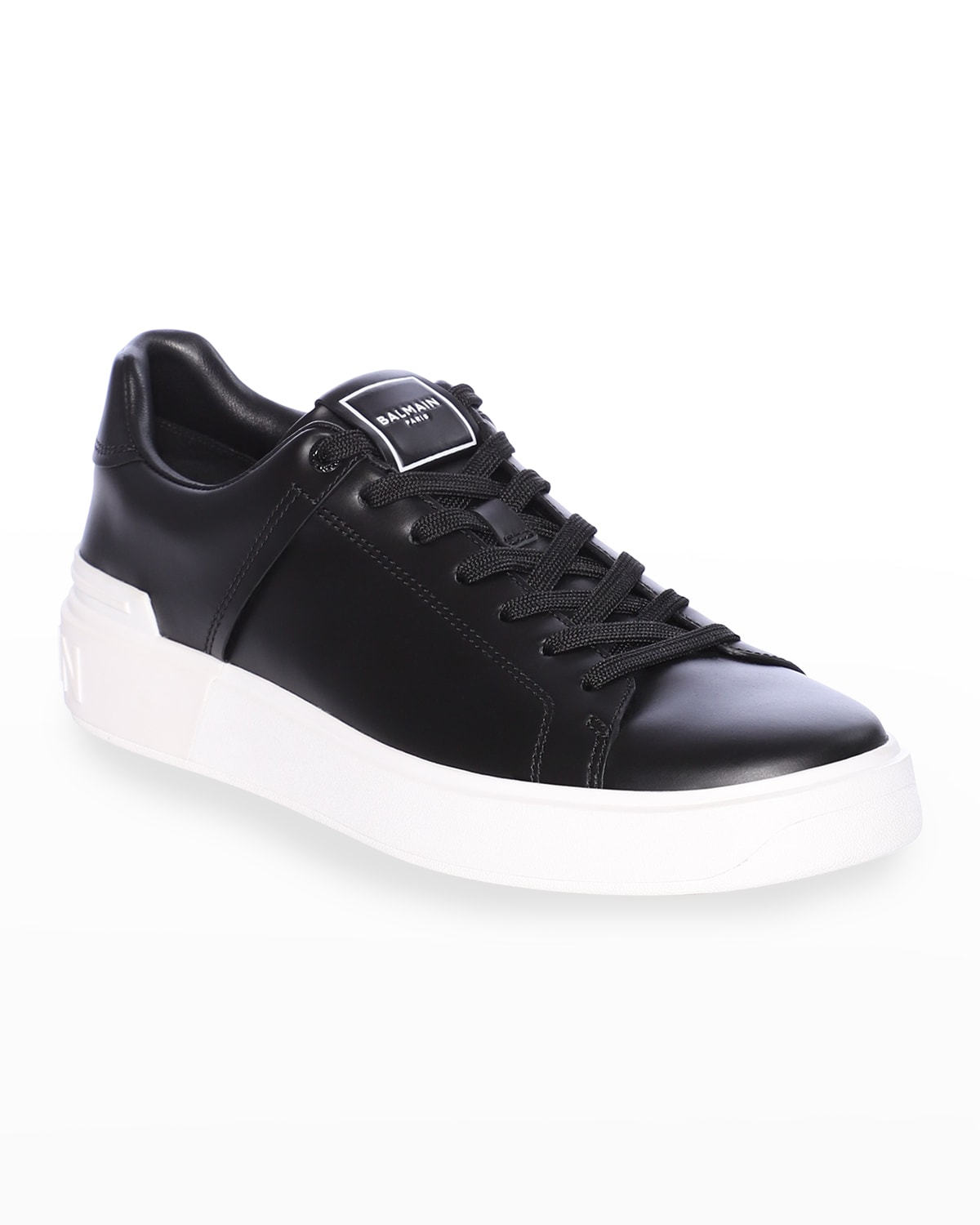 Men's B Court Leather Low-Top Sneakers