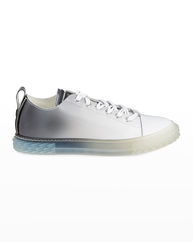 Men's Blabber Ombre Patent Low-Top Sneakers