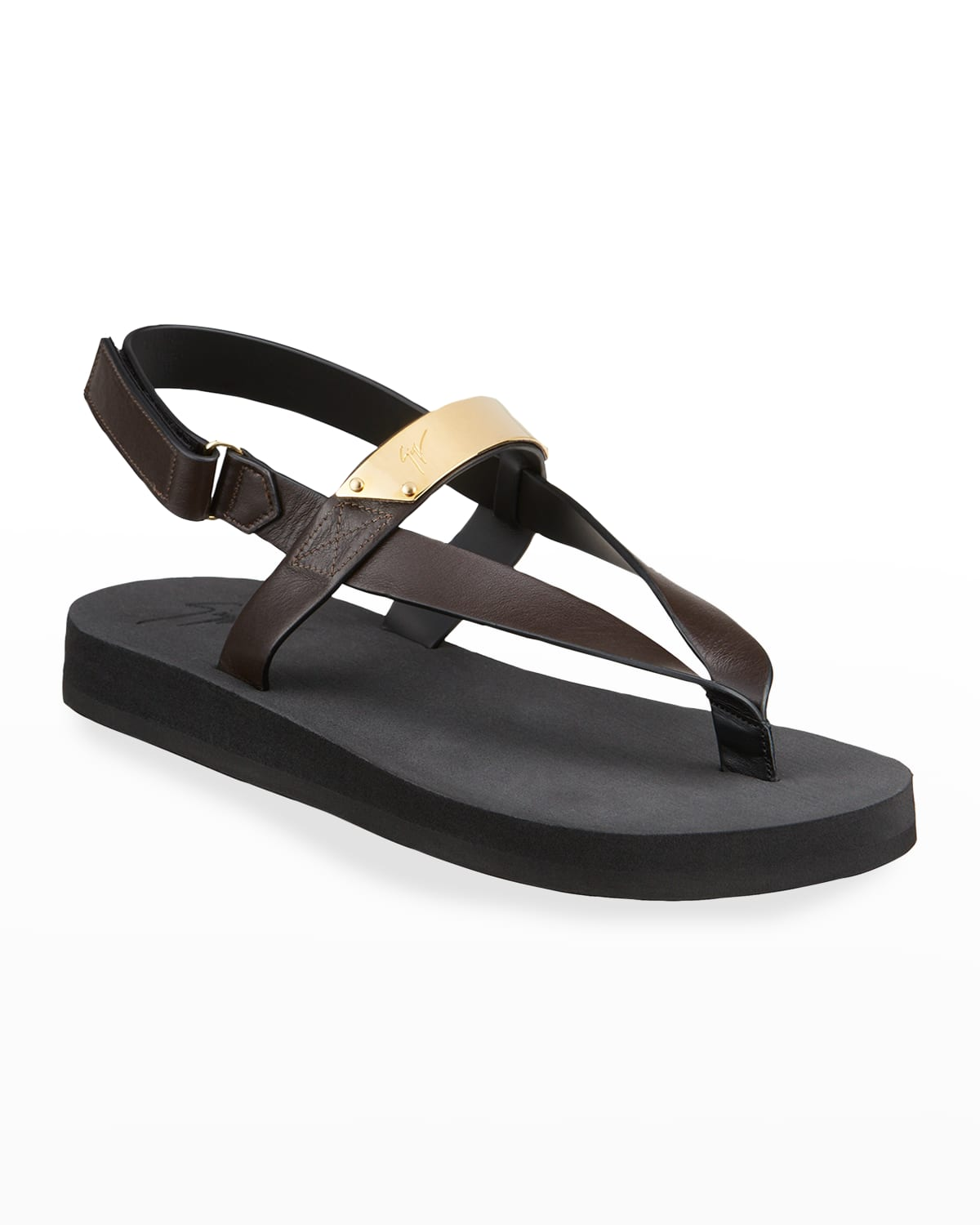 Men's San Diego Leather Thong Sandals