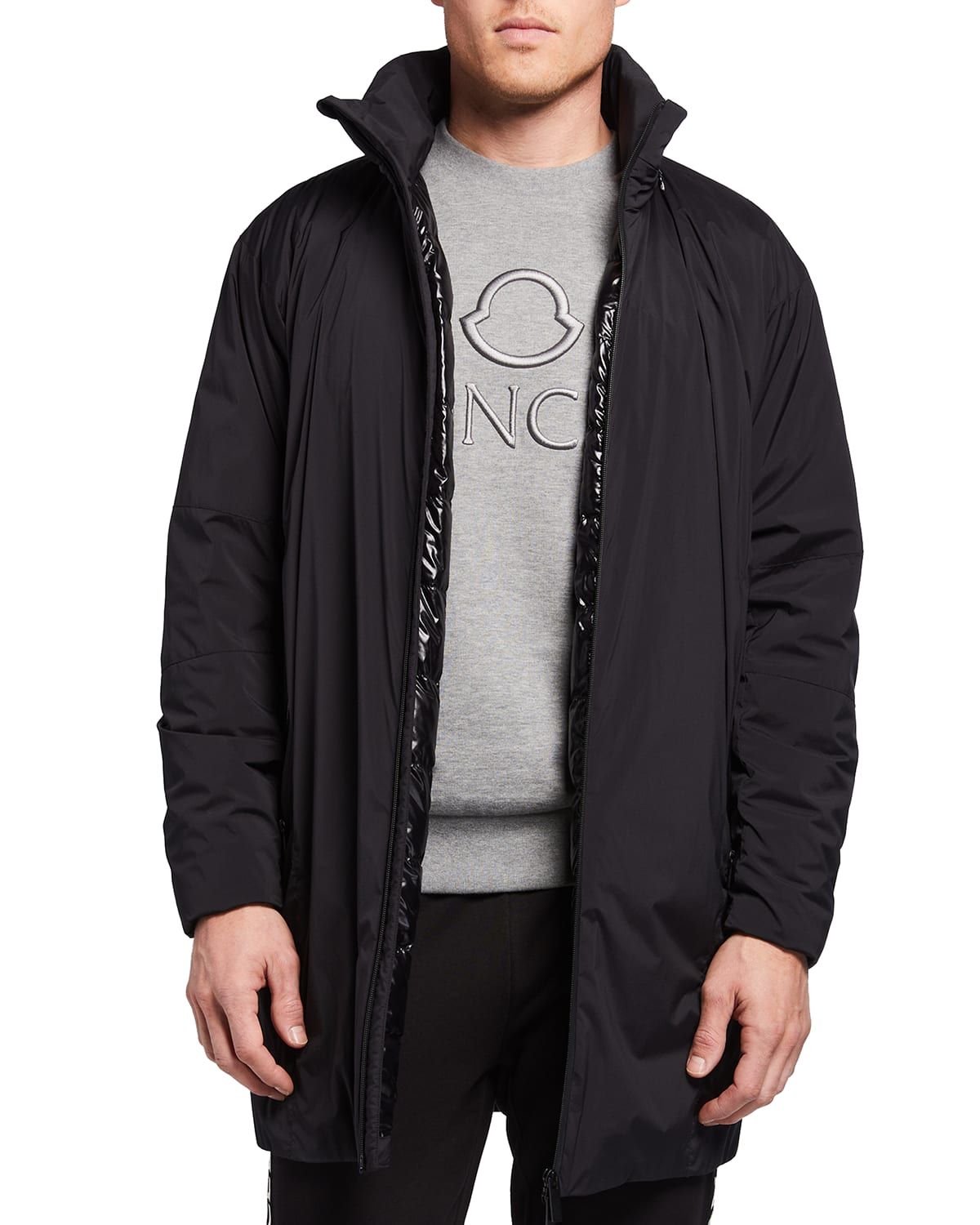 Men's Chartres Padded Technical Nylon Chartres Jacket