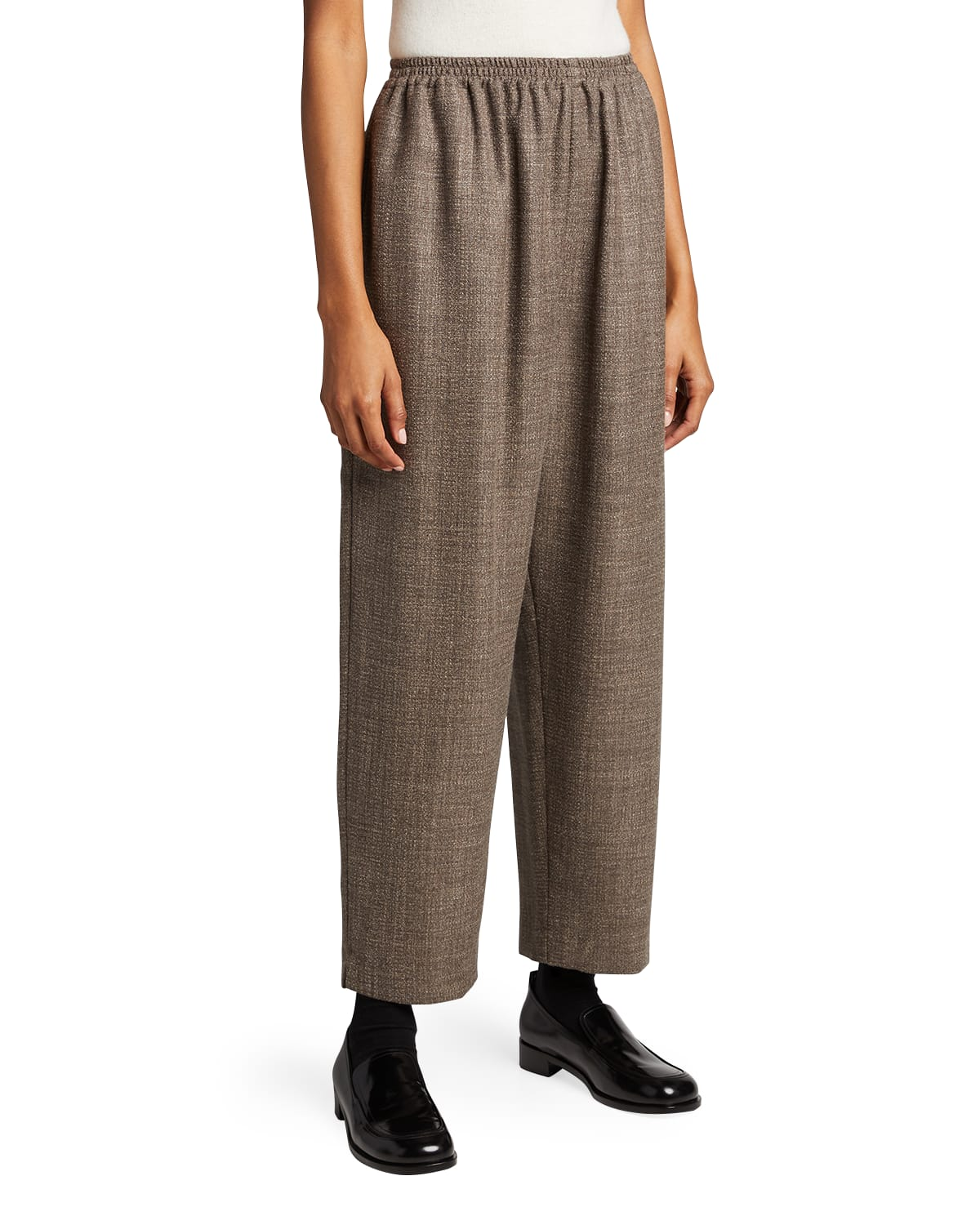 Wool-Blend Japanese Trousers