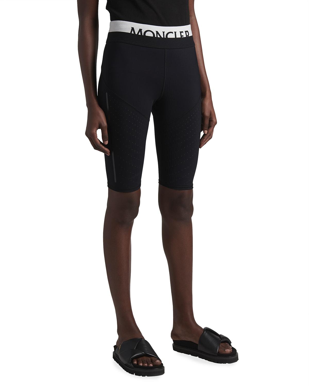 Logo Band Biker Shorts