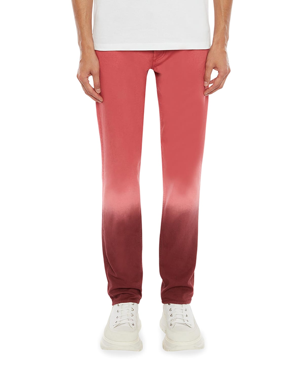 Men's Dip-Dyed Denim Jeans