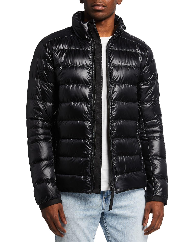Men's Crofton Quilted Nylon Jacket