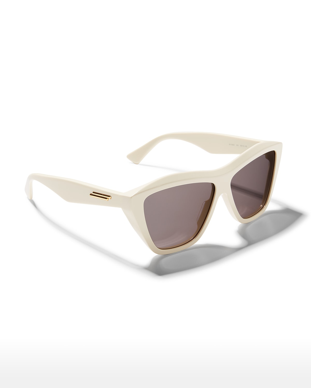 Wavy Acetate Cat-Eye Sunglasses