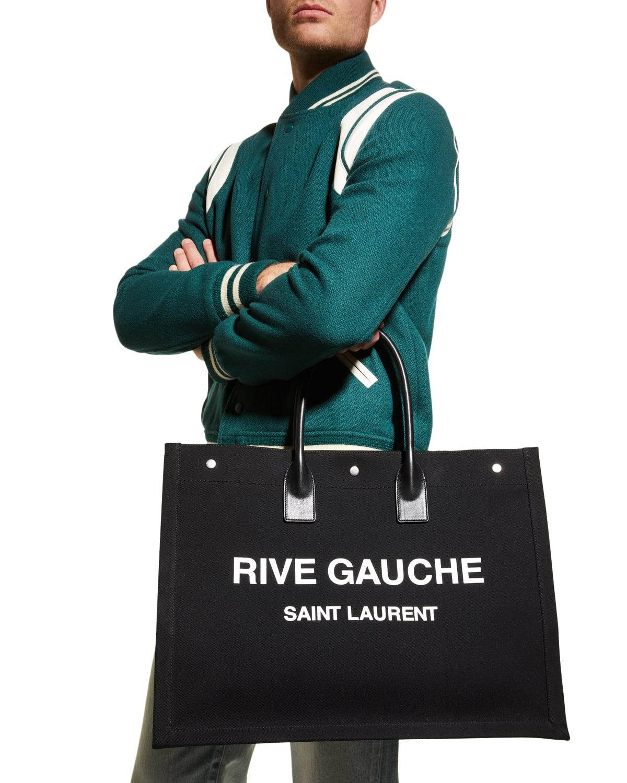 Men's Noe Rive Gauche Canvas Tote Bag
