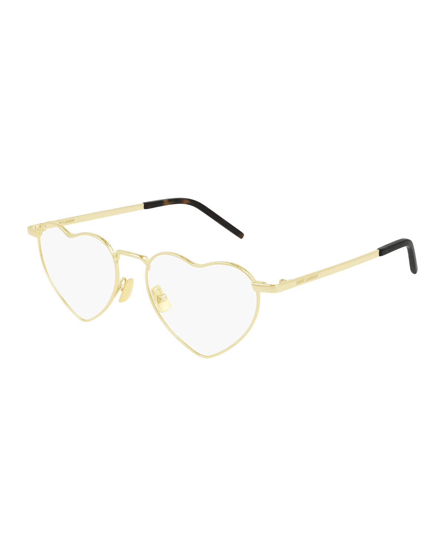 Loulou Heart-Shaped Metal Optical Glasses