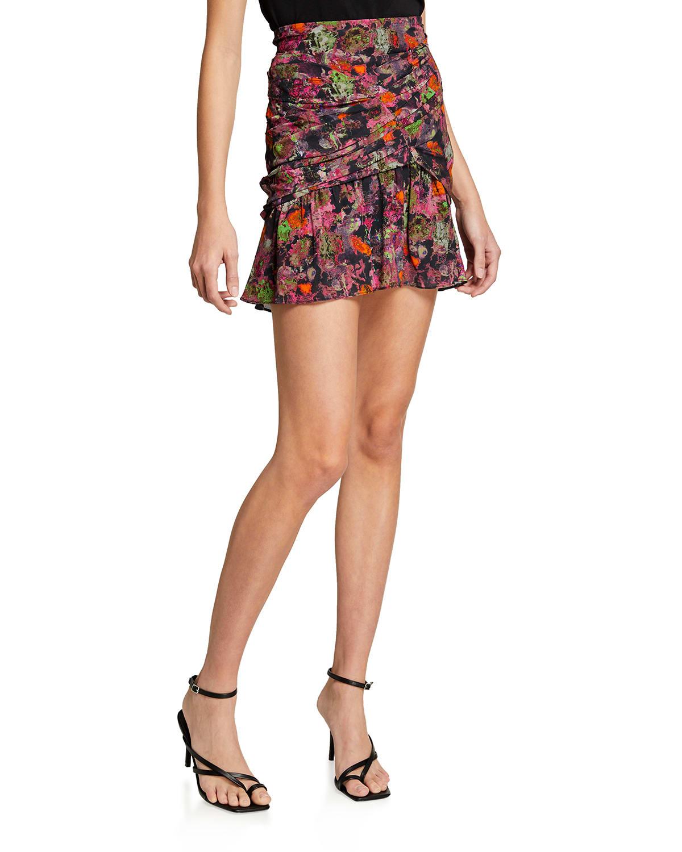 Nuada Ruched Short Skirt