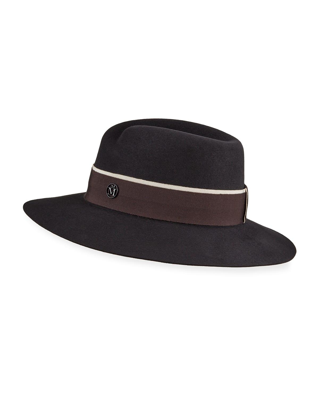 Virginie Rabbit Felt Hat
