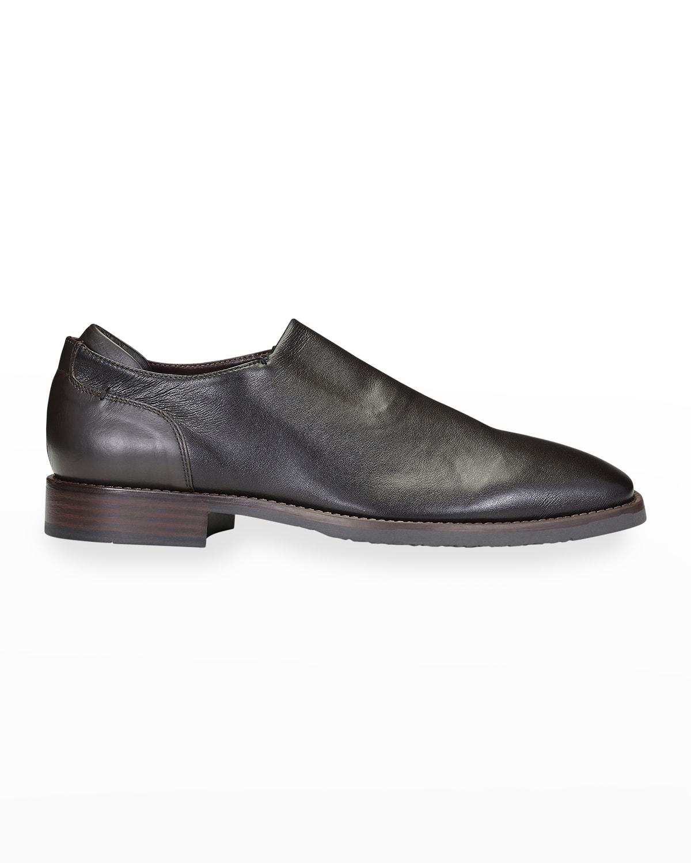 Men's Stretch Napa Slip-On Dress Shoes