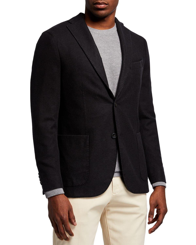 Men's Plush Wool Sport Jacket