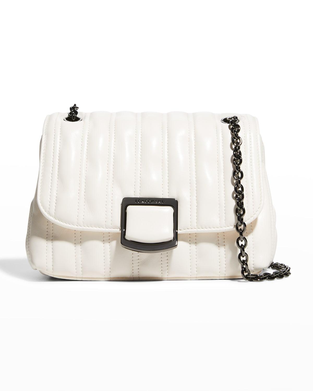 Brioche Small Quilted Lambskin Crossbody Bag