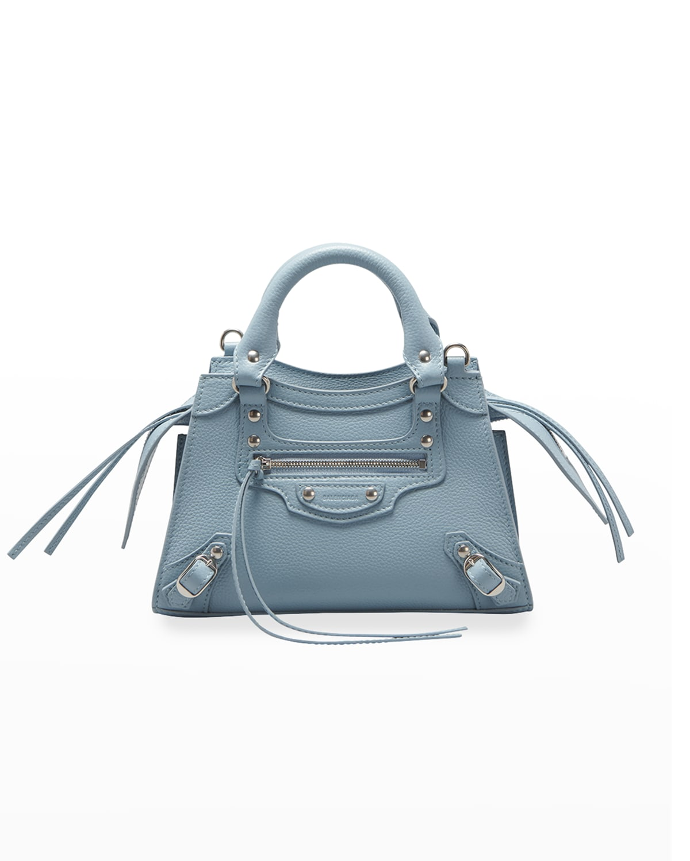 Neo Classic City Mini Grained Leather Satchel Bag