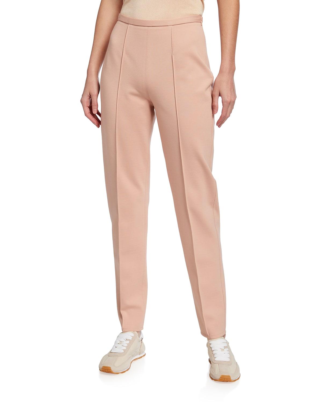 Slim Pintuck Pants