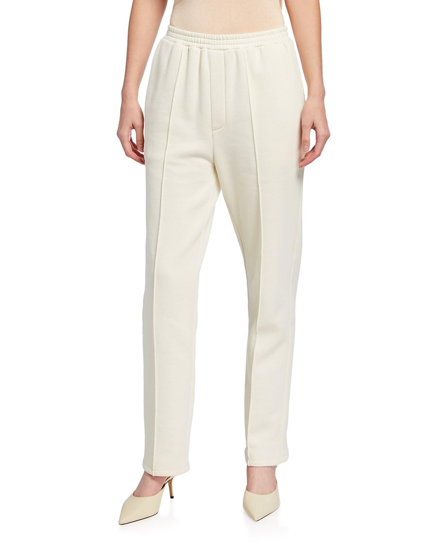 Cotton Pintuck Sweatpants