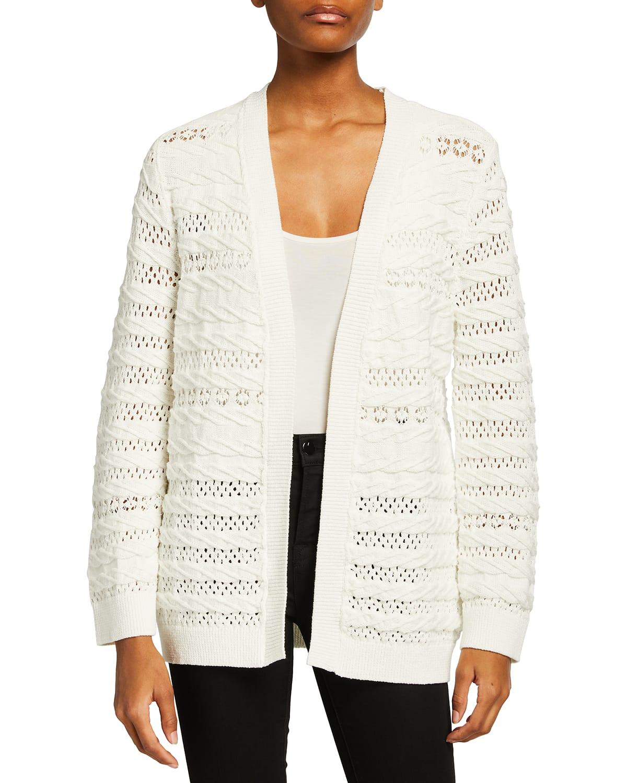 Martina Pointelle Cotton Sweater