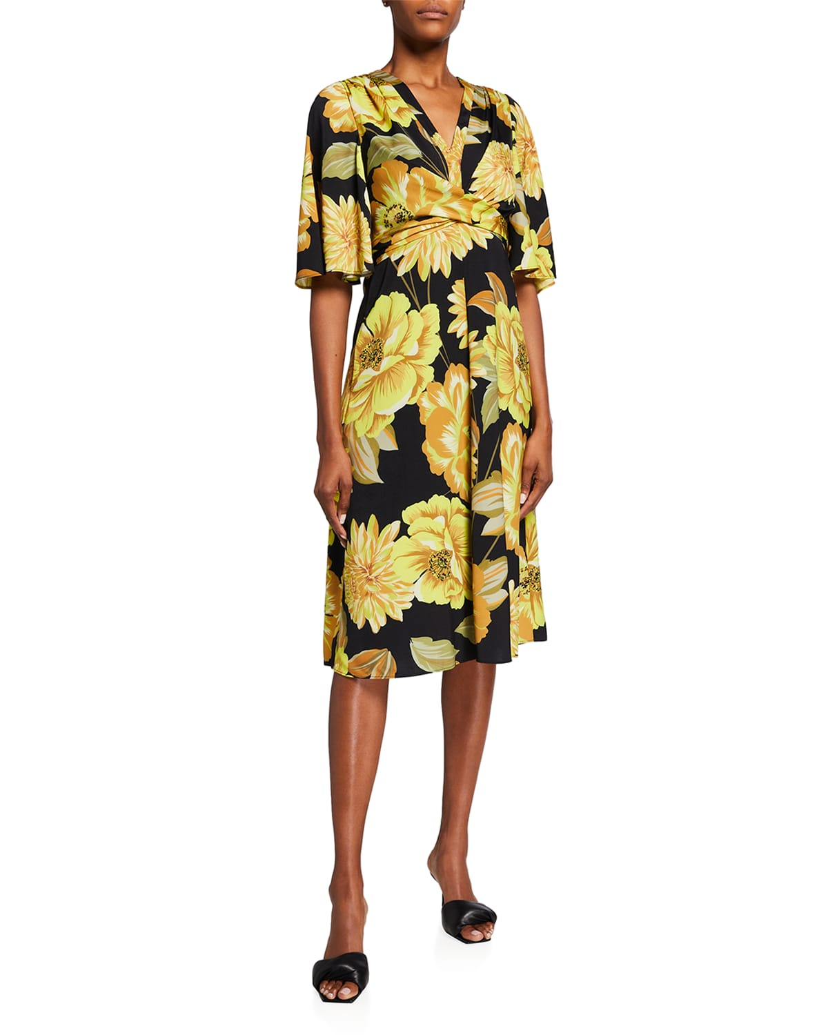 Carrie Floral-Print Dress