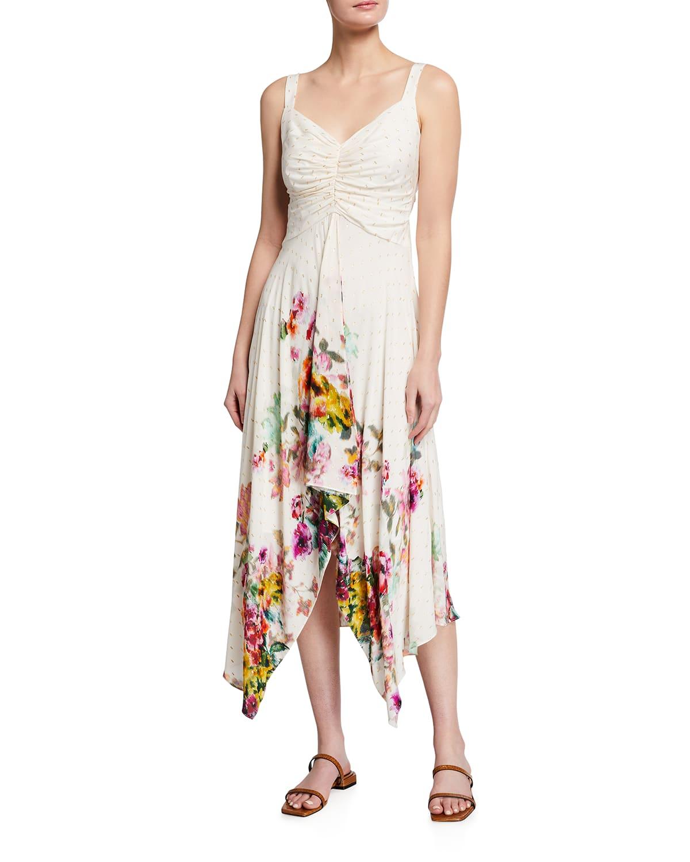 Luna Sleeveless Handkerchief Dress