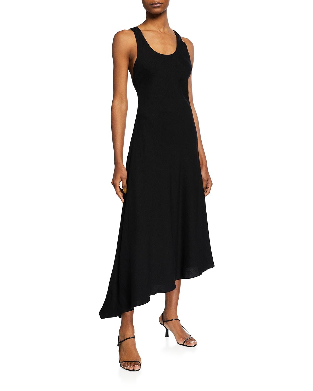 Mazie Asymmetric Racerback Dress