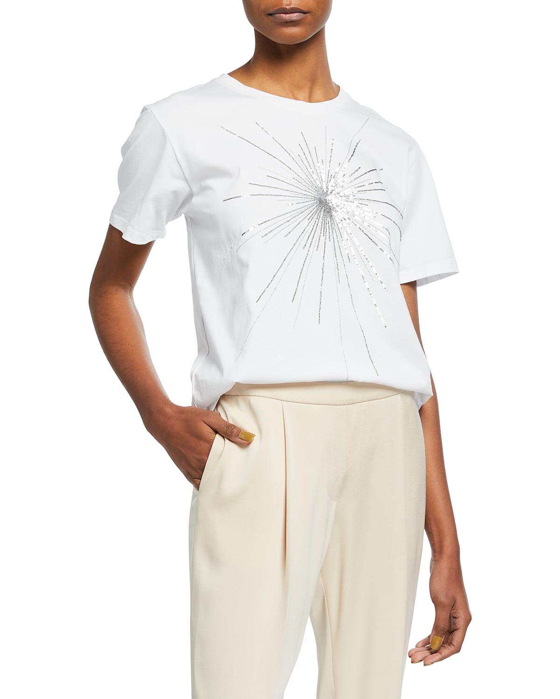 Alina Sequin-Embellished T-Shirt